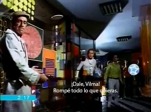 Dale, Vilma, rompé todo lo que quieras